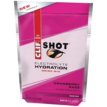 Clif Shot Hydration Cranberry Razz